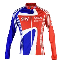 British Cycling Long Sleeved Jersey