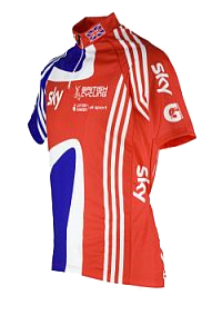 British Cycling Short Sleeved Jersey