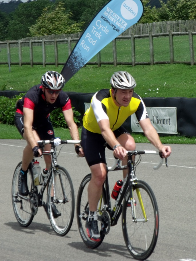 Chris Boardman on track at RIDE24