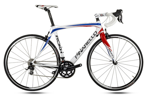 Pinarello Rokh 558 in British Cycling Colours