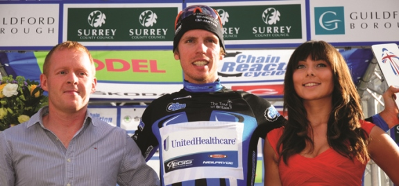 Chain Reaction Cycles Points Jersey 2012 winner Boy Van Poppel