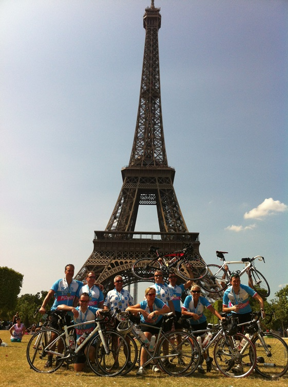 London to Paris 2013 Finishers. Photo credit: Martin Tyler
