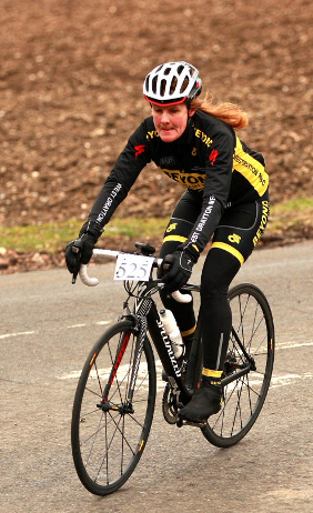 Jackie Roberts taking part in last year's event