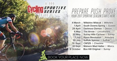 15% Off Cycling Weekly Sportive Series Events