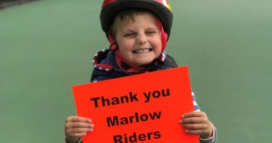 Marlow Red Kite Ride Raises £9,000 for Charity