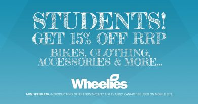 Wheelies Student Discount