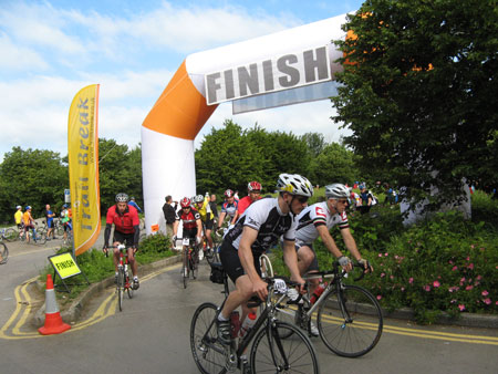 Great Western Sportive Finish