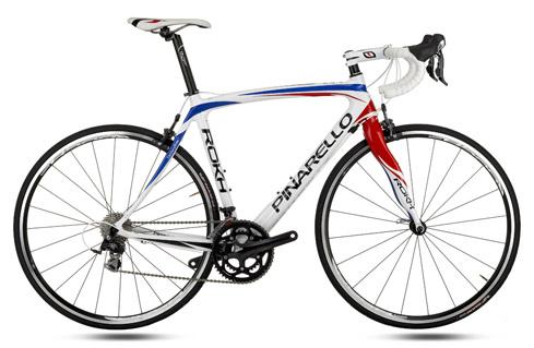 Pinarello Rokh 558 in British Cycling Colours